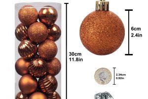 esferas de navidad moradas