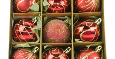bolas navidad rojas