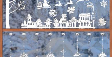 vinilos navidad escaparates