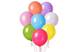 globos y decoracion navidad bolas gigantes