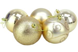 bolas doradas png
