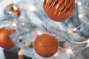 bolas de navidad verde png