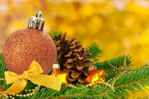 bolas navideñas en icopor
