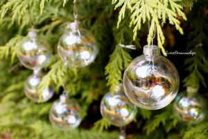 esferas de cristal navidad