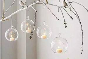 adornos navideños bolas de cristal