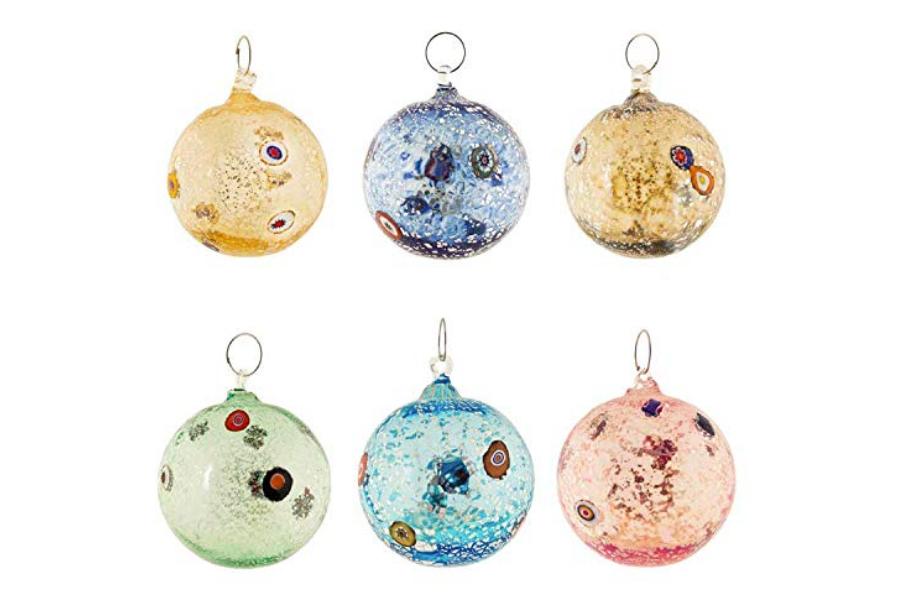 bolas de navidad cristal
