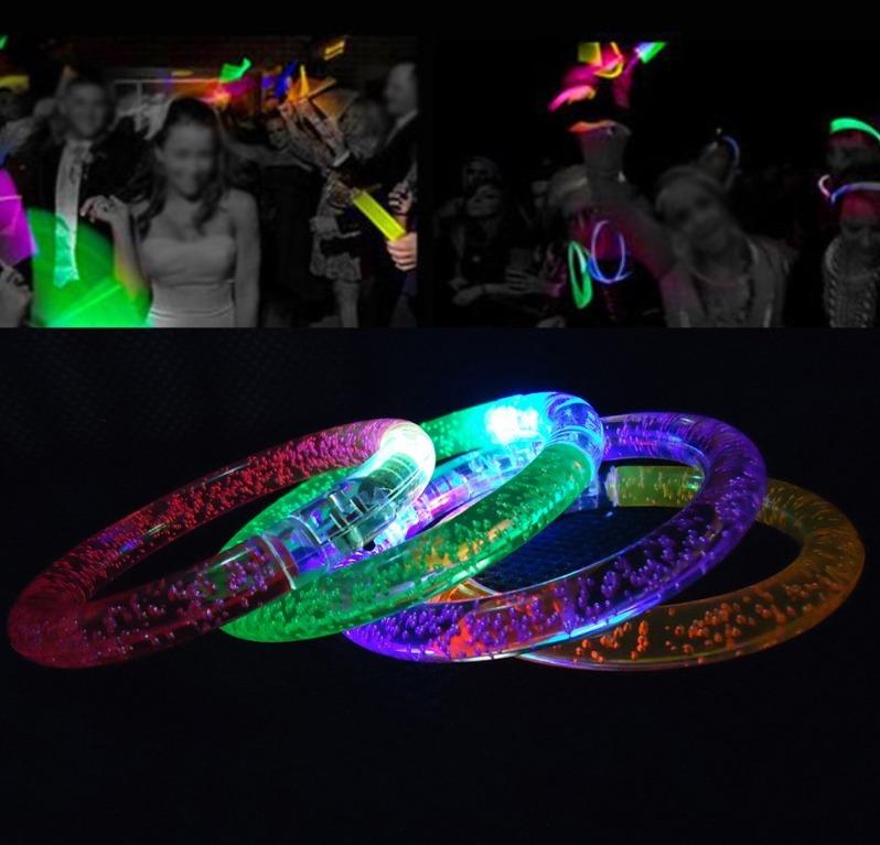 pulseras luminosas amazon