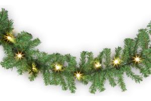costo de guirnaldas navideñas