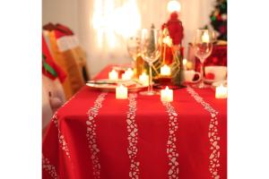 manteles individuales navideños comprar