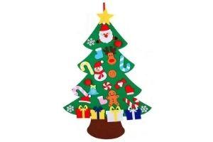 arbol navidad de fieltro