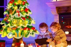 arbol navidad niños