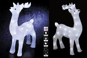 renos de navidad exterior