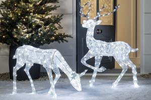 reno luces led navidad