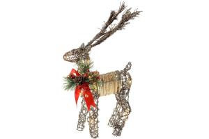 ciervo navidad led