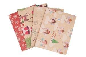 papel regalo navidad