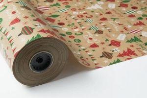 papel navidad